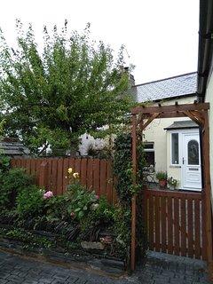 Gated front garden