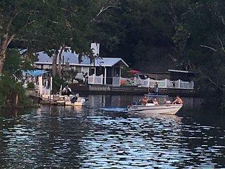 Weeki Wachee river .Not a canal ,walking distance to Rogers park beach.
