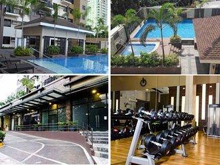 Cebu affordable condo w/ WIFI,1BR, balcony, pool & gym