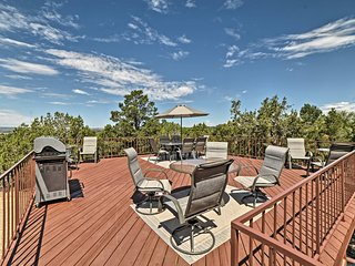 NEW! Dolores Home on 19 Acres w/ 360-Degree Views!