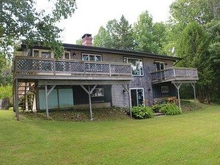 Oceanfront with Deck and Sun Porch, just 1/2mi from Public Boat Launch