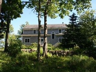 Beautiful 4Br Cottage overlooking Bucks Harbor with majestic views of the water
