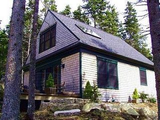 Classic Maine Forest Cottage - privately situated - a short walk to the beach