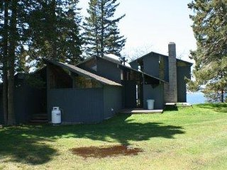Inspirational Rustic/contemporary design 3 br home, view of Big Babson Island