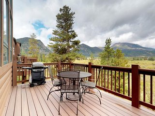 NEW LISTING! Beautiful condo with private hot tub, lake views, and fireplace