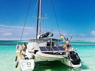 Catamaran all inclusive - Sailing & ScubaDiving in Belize