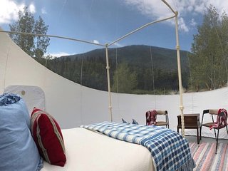 Bubble Tent (Full-Transparent) at Bison Peak Lodge
