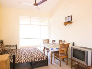 Cosy 2 BHK Luxurious Apartment for Family of 5 Vacationers in Nuvem, South Goa