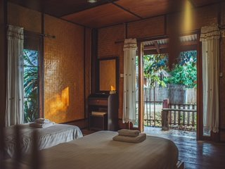 A1 . Kalm Pai Resort Hot Spring Cozy Villa (Twin)