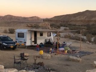 ShakaVans desert glamping, holiday rental in Sde Boker