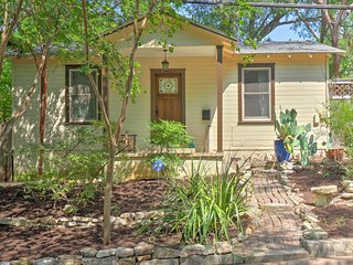 NEW! Quaint Austin Home w/ Screened Porch & Patio!