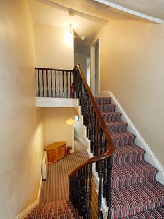 Stairs from 2nd floor up to 3rd floor