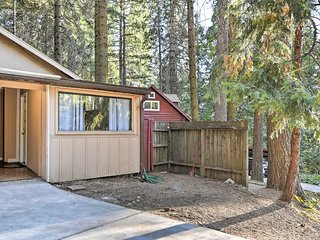 NEW! Pollock Pines Apt in Sierra Nevada Mtns!