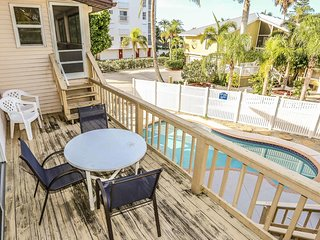 Beach-side Home w/Heated Pool at South End of Island