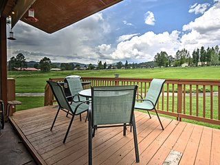 Ruidoso Townhome w/Deck - Cree Meadows Golf Course