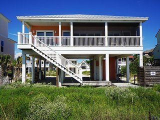 New Gulf Front Home, North Cape San Blas, only steps to the water's edge!