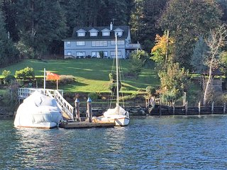 Waterfront Oasis with Private Dock – Ganges Harbour