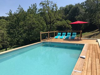 *New* A beautiful French farmhouse with private swimming pool
