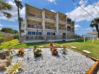 NEW LISTING! Oceanfront condo w/great views, steps to Cinnamon Sand Beach