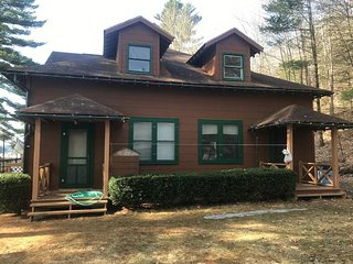 5 BR lakefront house in the Adirondacks NY