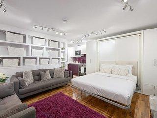 Stylish, King-size Studio Flat near Regent's Park