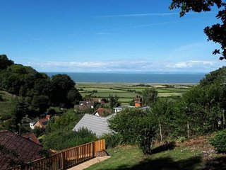 West Wind, Porlock - Holiday cottage for up to 6 guests with lovely views to the
