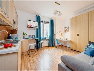 Waszyngtona apartment in Praga with WiFi.