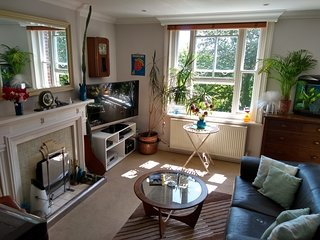 Stunning Retro Apartment in quiet leafy street central Brighton