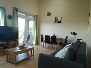 Entire 2 bedroom family flat.  15 minute walk to the city centre