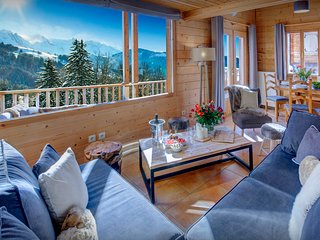 Chalet near village, pistes - great views from the hot tub - OVO Network