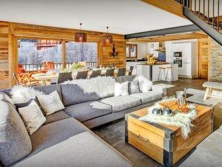 5* Ski chalet in heart of village, sauna, hot tub, terrace - OVO Network
