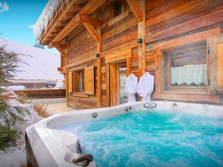 Enjoy mountain life at this village chalet near ski lift - OVO Network