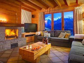 Wake up to breathtaking views before you head for the pistes - OVO Network