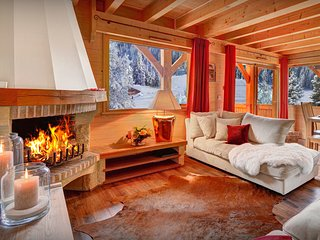Ski into the village from this family-friendly 4 star chalet - OVO Network