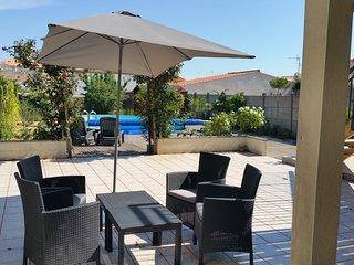 Résidence La Chaumette - 2 Pièces avec piscine au calme, proche du centre-ville
