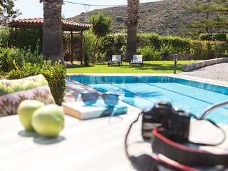 Villa Metochi - Homey Ambience & Privacy only 2,5 km from Rethymno, kid-friendly