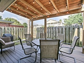 NEW! Chic Central Uptown New Orleans House w/ Deck