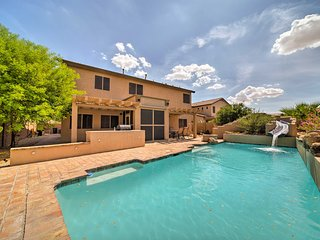 Goodyear Home w/Private Pool, Water Slide & Games!