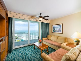 Oceanview Condo Steps from Beach & Family Kingdom w/ Resort Pool & Lazy River