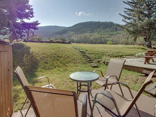 NEW LISTING! Mountain view condo with easy access to Vail Ski Resort