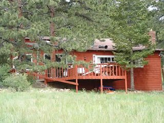 NEW LISTING! Cozy cabin on 4 acres with kitchen & furnished deck, lake views