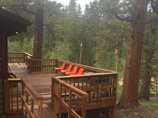 NEW LISTING! Charming, retro cabin w/ a wraparound deck and panoramic views!
