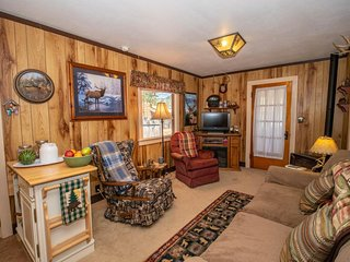 NEW LISTING! Cozy 90-year-old cabin frequented by wildlife near shopping, dining