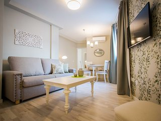 Newly refurbished and furnished in historic center of Malaga with shared terrace