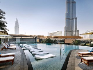 2 Bedroom  BLVD Hotel Residence - Burj View connected w/ Dubai Mall