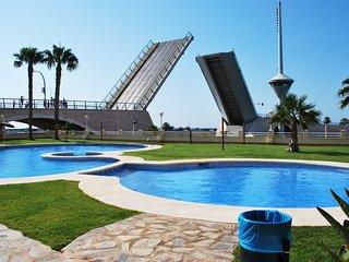 Un paraíso en Murcia. Apartamento ideal, para parejas con niños.