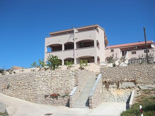 Apartments Njaco - Traditional Two Bedroom Apartment with Teracce and Sea View
