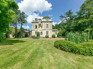 5 bedroom Chateau in Soulanger, Pays de la Loire, France : ref 5049814