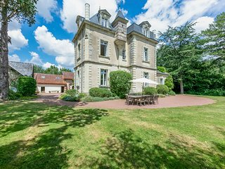 13 bedroom Chateau in Soulanger, Pays de la Loire, France : ref 5049821