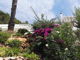 Casa tipica ibicenca en el tranquilo campo (Ibiza)